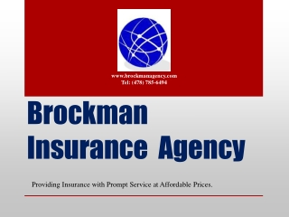 Brockman Insurance  Agency