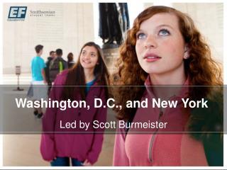 Washington, D.C., and New York