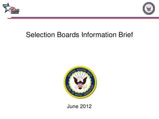Selection Boards Information Brief