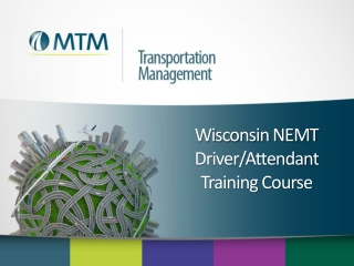 Wisconsin NEMT  Driver/Attendant Training Course