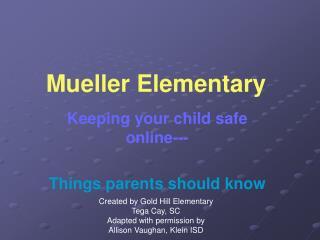Mueller Elementary