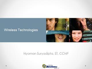 Nyoman Suryadipta, ST,  CCNP