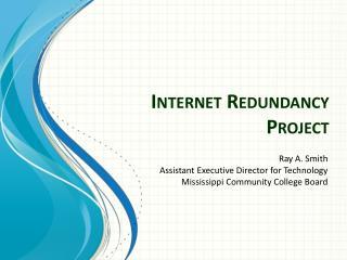 Internet Redundancy Project