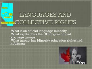 LANGUAGES AND COLLECTIVE RIGHTS