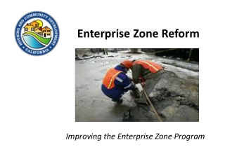 Enterprise Zone Reform