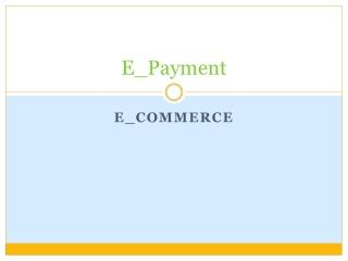 E_Payment