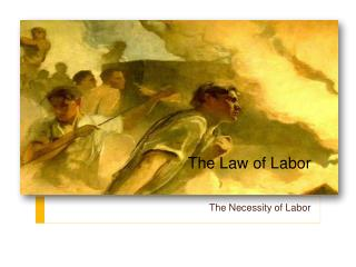 The Law of Labor