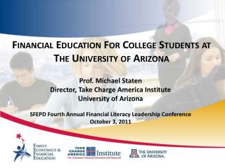 Financial Education  For College Students at The University of Arizona