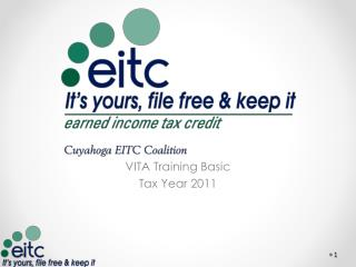 VITA Training Basic Tax Year 2011