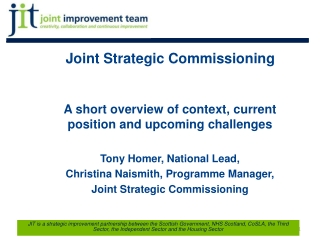 Joint Strategic Commissioning