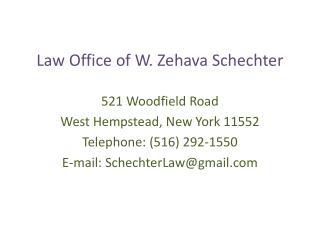Law Office of W. Zehava Schechter