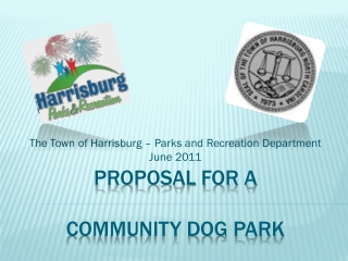 Proposal for a  community dog park