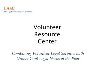 Volunteer Resource Center
