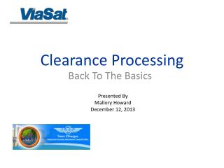 Clearance Processing