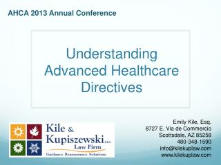 Understanding Advanced Healthcare Directives