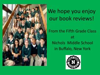 We hope you enjoy  our book reviews!