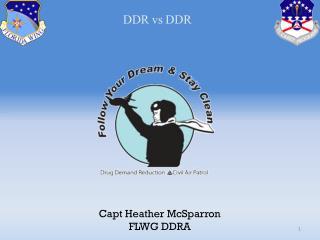 Capt Heather McSparron FLWG DDRA