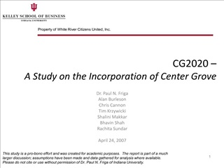 cg2020   a study on the incorporation of center grove