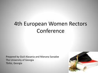 4th European Women Rectors Conference