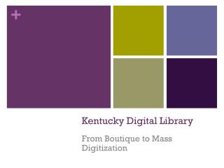 Kentucky Digital Library