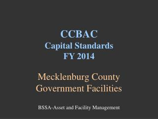 Mecklenburg County Government Facilities