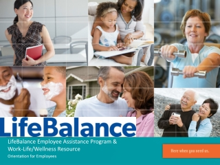 LifeBalance  Employee  Assistance Program  & Work-Life/Wellness Resource