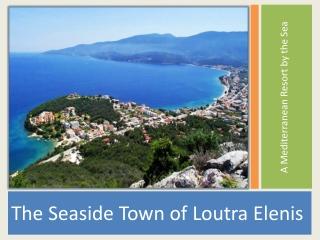A  M editerranean Resort by the Sea