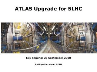 ESE Seminar 25 September  2008