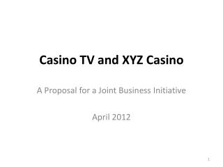 Casino TV and XYZ  Casino