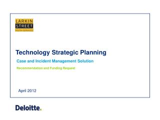 Technology Strategic Planning