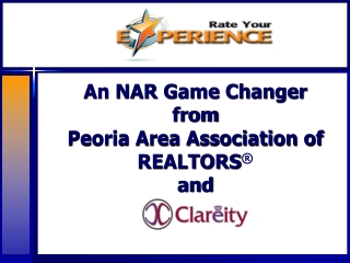 An NAR Game Changer from Peoria Area Association of REALTORS � and