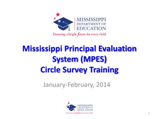 Mississippi Principal Evaluation System (MPES)  Circle Survey Training