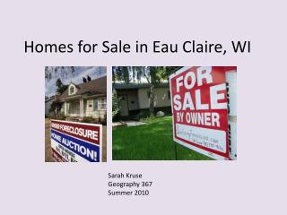 Homes for Sale in Eau Claire, WI