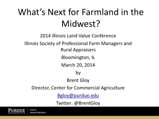 What's Next for Farmland in the Midwest?