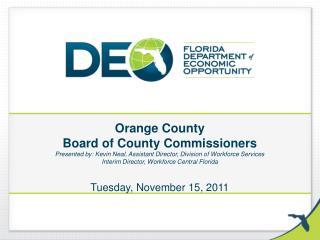 Workforce Central Florida  Update