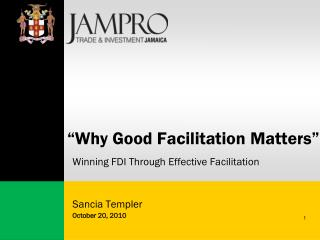 """Why Good Facilitation Matters"""