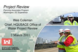 Project Review Planning Associates Program Washington, DC Experience