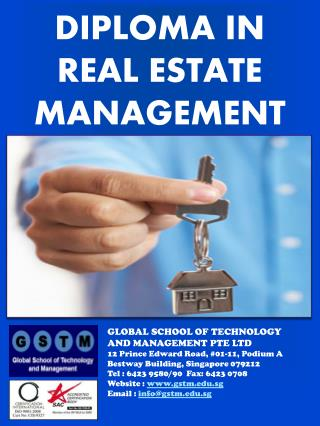 DIPLOMA IN  REAL ESTATE MANAGEMENT