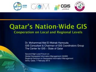 Qatar�s Nation-Wide GIS Cooperation on Local and Regional Levels