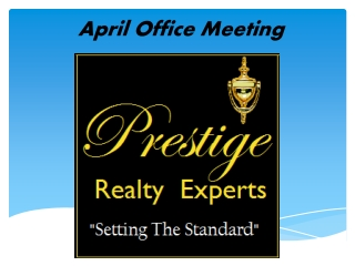 April Office Meeting