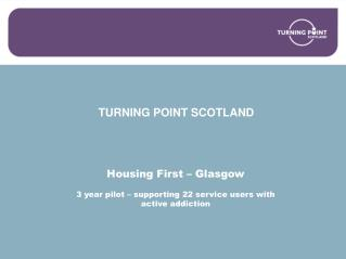 TURNING POINT SCOTLAND