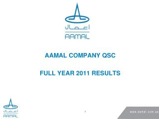 AAMAL COMPANY QSC FULL YEAR 2011 RESULTS