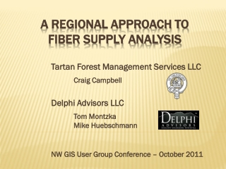 A Regional Approach to Fiber Supply Analysis