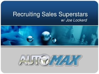 Recruiting Sales Superstars