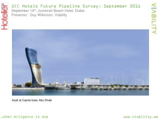 GCC Hotels Future Pipeline Survey, September 2011 September 14 th ,  Jumeirah  Beach Hotel, Dubai.   Presenter:  Guy Wi