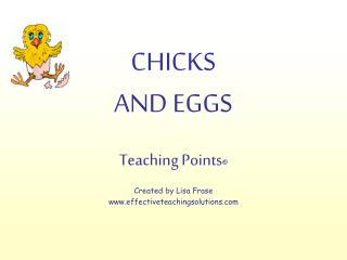 chicks and eggs