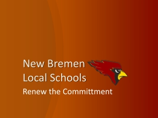 New Bremen  Local  Schools
