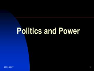 51610 1 Politics and Power