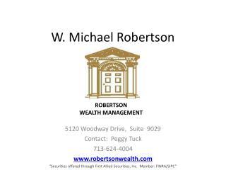 W. Michael Robertson