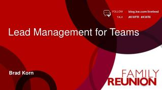 Lead Management for Teams